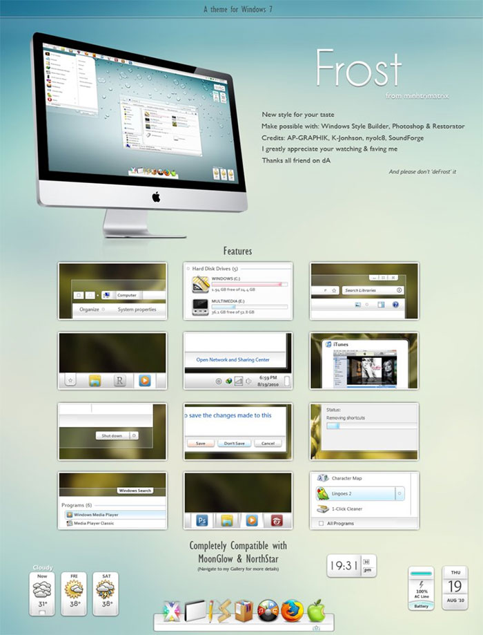 windows 7 themes download deviantart