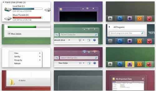 Windows 7 Skins: 21 Styles to Download windows 7 skins