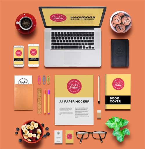 25 Free Branding Mockup Templates In Smart Psd Files