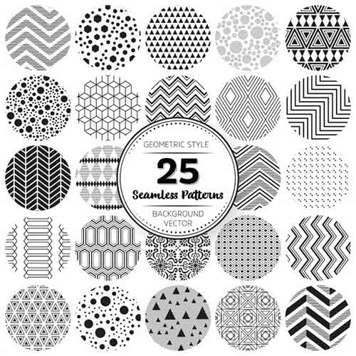 Vector Patterns 60 Free Backgrounds For Web And Print Designs Magnificent Vector Patterns