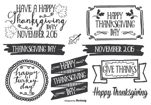 Thanksgiving Clipart And Autumn Vectors To Download Free
