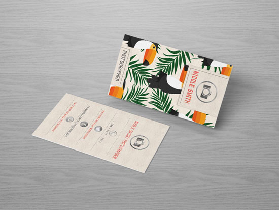 Photographer Business Card Templates: 5 Free Designs With ...