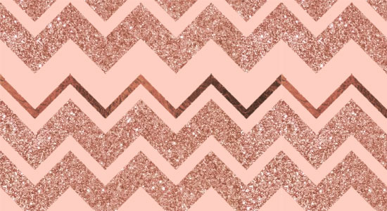 Rose Gold Pattern Designs: 18 Seamless Backgrounds In