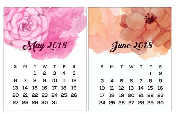 Phenomenal Printable Mini Calendars For 2018 To Download Free Download Free Architecture Designs Scobabritishbridgeorg