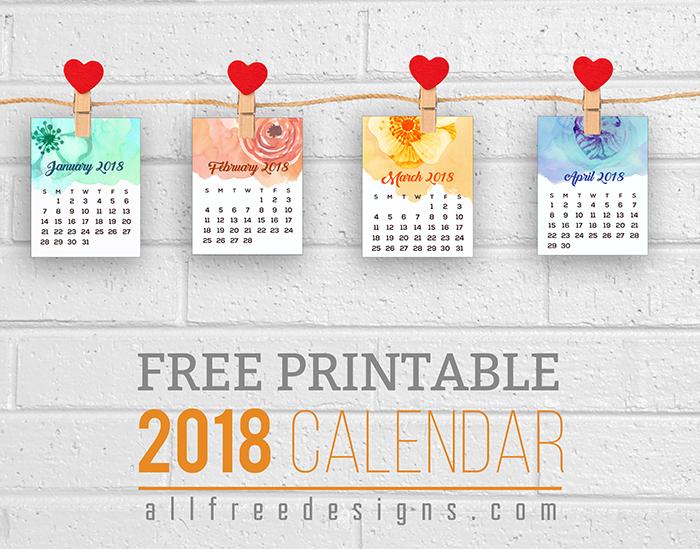 graphic regarding Printable Mini Calendar identified as Printable Mini Calendars for 2018 toward Down load Totally free