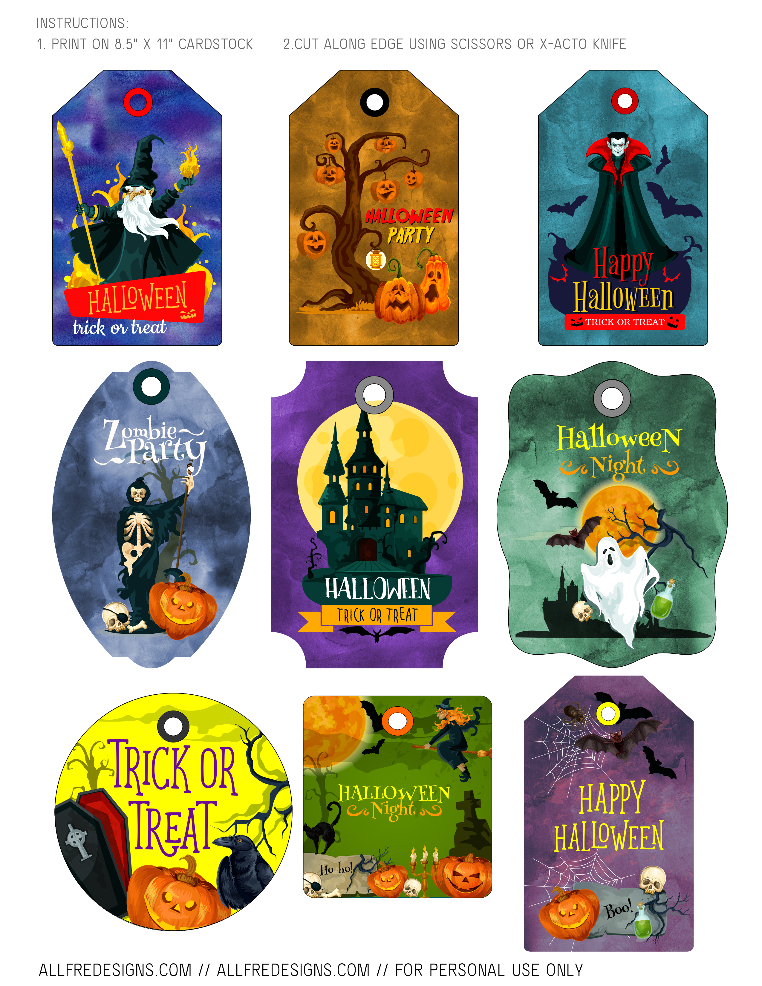 It's just a graphic of Halloween Gift Tags Printable with countdown